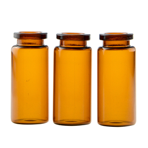 Wholesale medical amber glass vial 10ml pharmaceutical glass vial