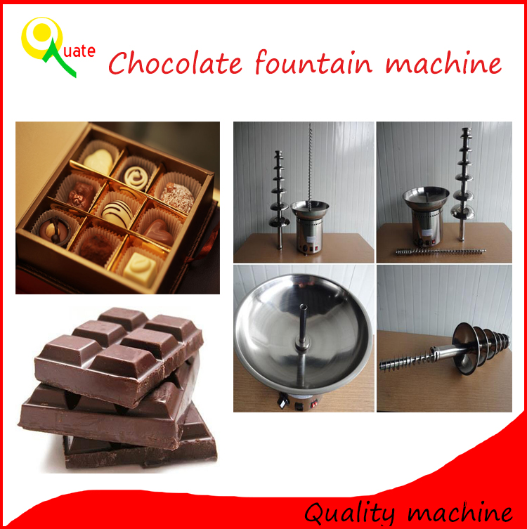 2016 New Product and Best Price mini chocolate fountain making machine