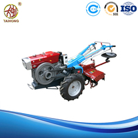 high quality two wheeled walking tractor with power tiller for farm usage