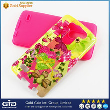 Colorful New Cover with Design TPU+PC Back Case For LG G3 Mini