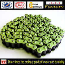 Chinese Spare Parts For Motorcycle,Transmission Part Green Motorcycle Chain