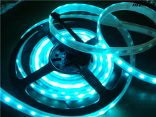 Factory direct sale pure white 60led smd 5050 cree led lighting strip lights