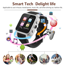 Bluetooth Smart Watch PW308 Android Waterproof SmartWatch Phone SIM Card camera Fitness smart watches Telefonotereste