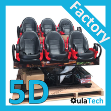 Hot 3D 4D 5D 7D 9D XD Cinema VR Motion System Hydraulic Pneumatic Electric Simulator