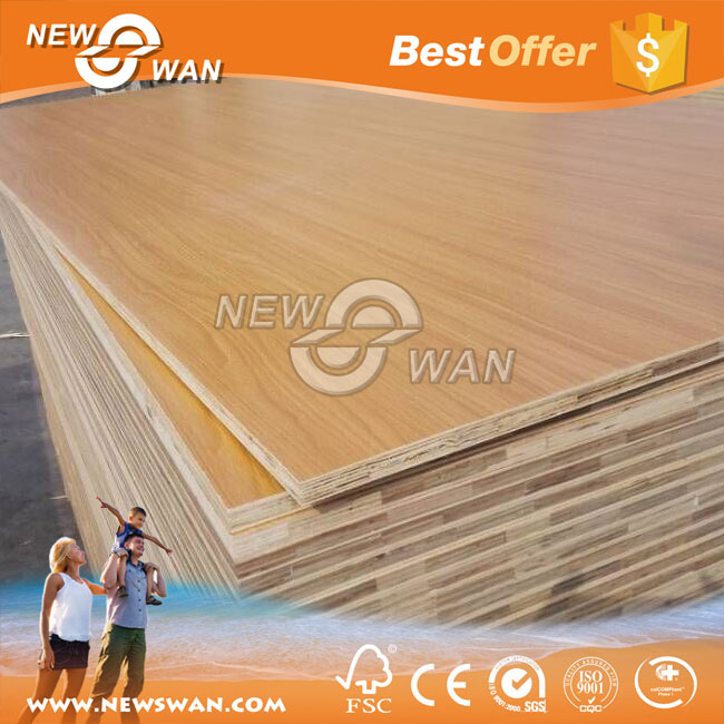 Double Sided Melamine Laminated Plywood / Particle Board / MDF