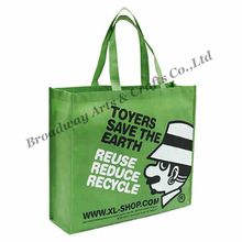 Custom printed non woven fabric shopping bag