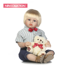 NEW simulation lifelike reborn toddler doll 28inch handmade doll soft touch babydoll Favorite gift for children Birthda
