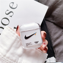 Protective <strong>case</strong> for airpods 2 cover fashion transparent wireless earphone <strong>case</strong> for apple airpods <strong>case</strong> Hard PC earphone covers