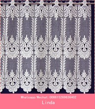 Fancy Lace Cafe Curtain/ embroidery kitchen curtain