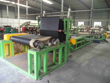 Tyre - Rubber Sheet Cutting