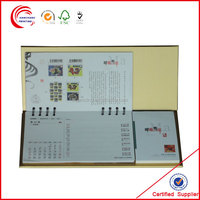 Customized english arabic calendar 2014