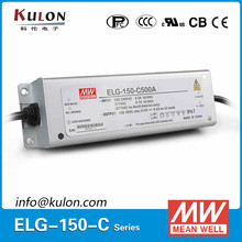MEAN WELL ELG-150-C500B 150w 500mA waterproof electronic dimming led driver