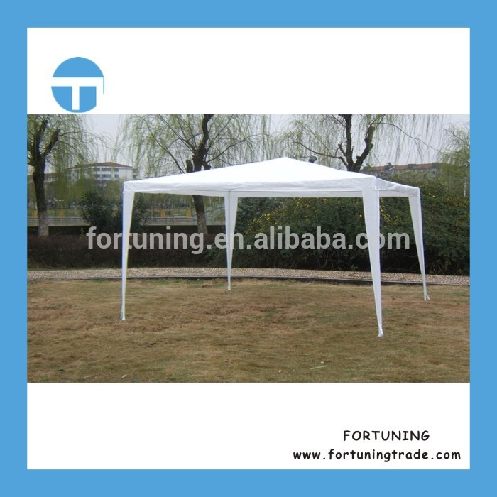 Shipping on time 3*9M PE gazebo weighted feet