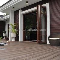 china manufacturer anti-slip best prefinished hardwood flooring/ wood grained resistance outdoor wood plastic composite decking