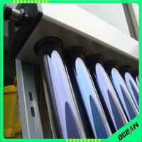 All glass vacuum tube solar thermal collector for solar hot water projects non pressure