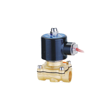 Custom made professional brass water flow gas air solenoid valve 1 inch 220v