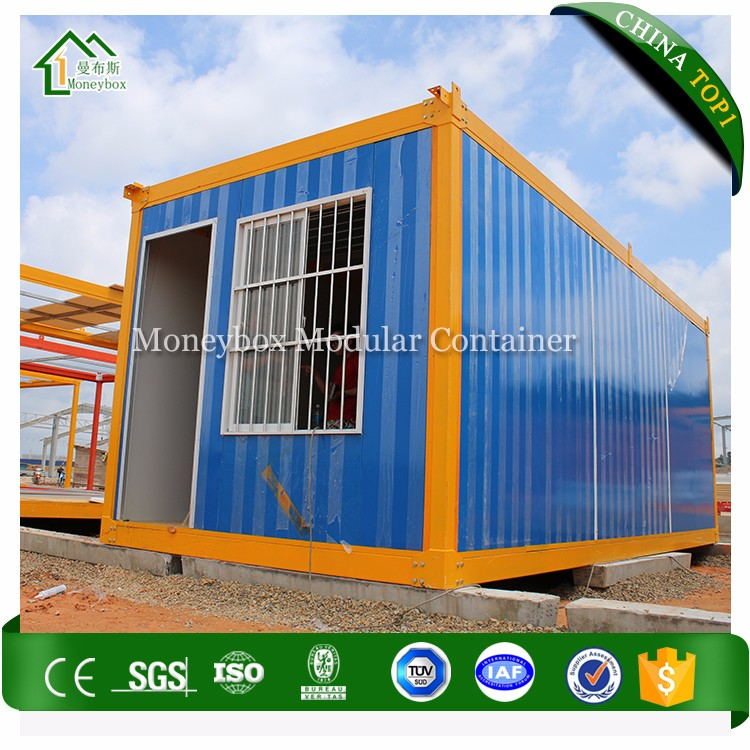 China Manufacturer full container house,flat-packed 20feet shipping container house frame
