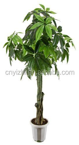 haute imitation artificielle arbre chance bonsa 150cmh vert artificielle arbres en pot plantes. Black Bedroom Furniture Sets. Home Design Ideas