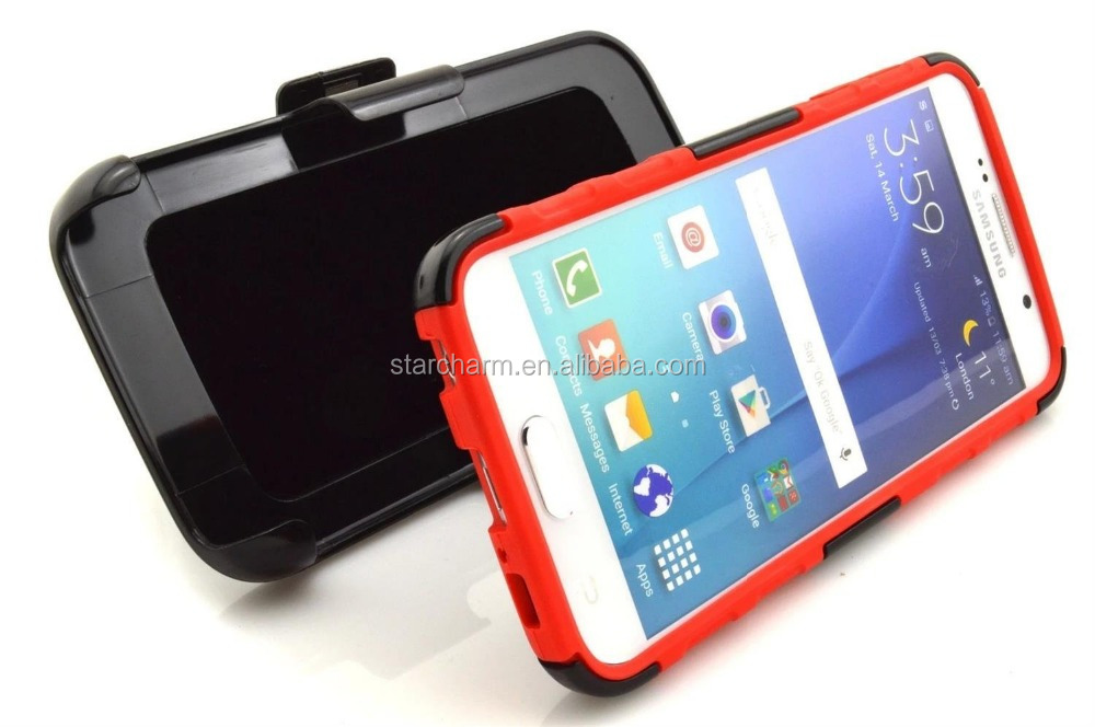 Waterproof shockproof 3 in 1 Hybrid combo stand pc+tpc Combo wholesale price for iphone 6/6s