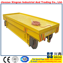 electric transfer cart rail flatbed vehicle electric flat car