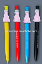 Advertising cartoon gift pen contains customized brand decoration