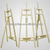French Rear-support easel drawing stand