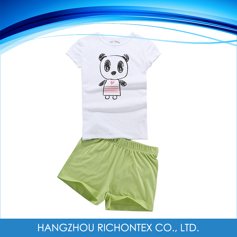 Summer Breathable Pajama Set