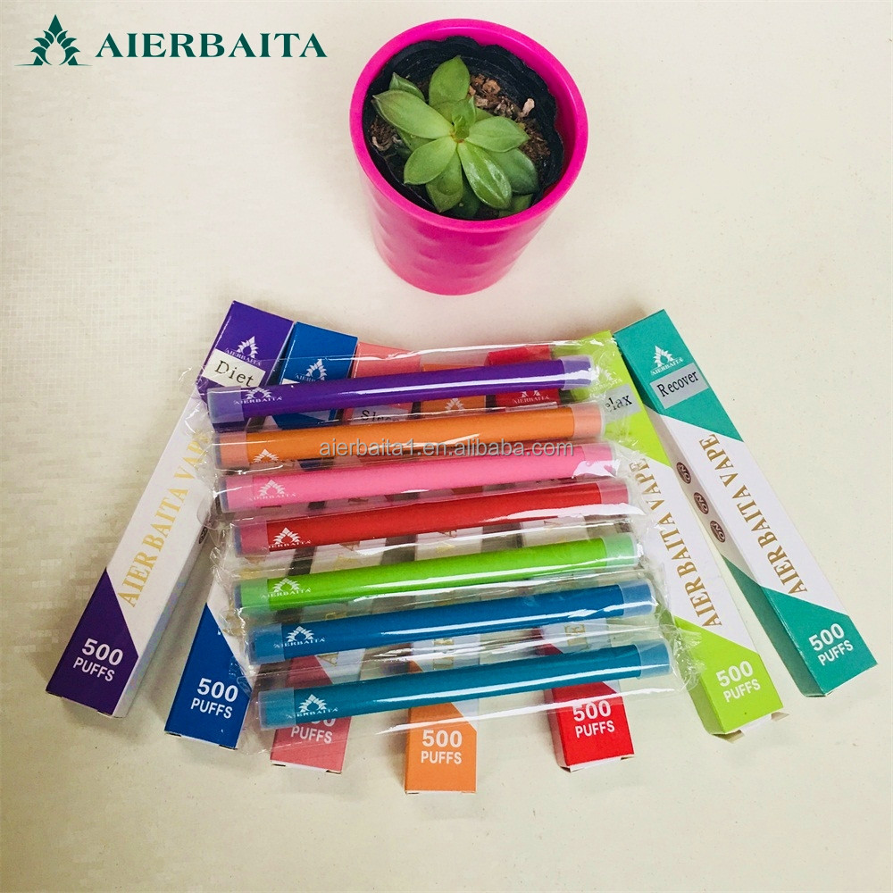 Chinese supplier 500 puffs Healthcare Supply Vitamin B12/B/C Vaporizer disposable electronic cigarette vitamin b12 inhaler vape