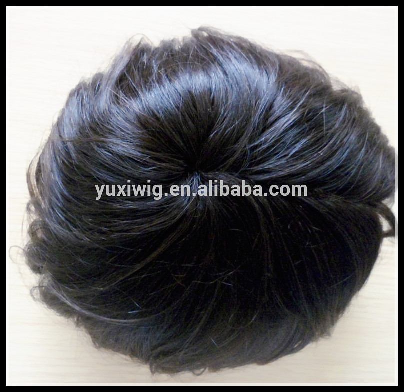 High Quality curly mens toupee on sale for black man