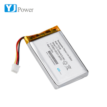 Factory Wholesale Rechargeable 3.7V 5000mAh 105080 lithium polymer lipo battery