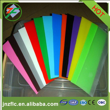 Color painted aluminum plate for decoration PE or PVDF coated