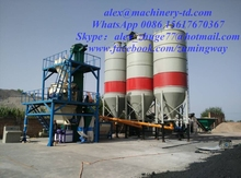 50 ton per day double shaft paddle mortar mixer