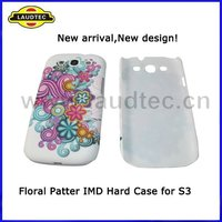 Hard Case for Samsung Galaxy S3 i9300,Hybrid Hard Back Case Cover,Beautiful Flower Pattern,Fast delivery---Laudtec