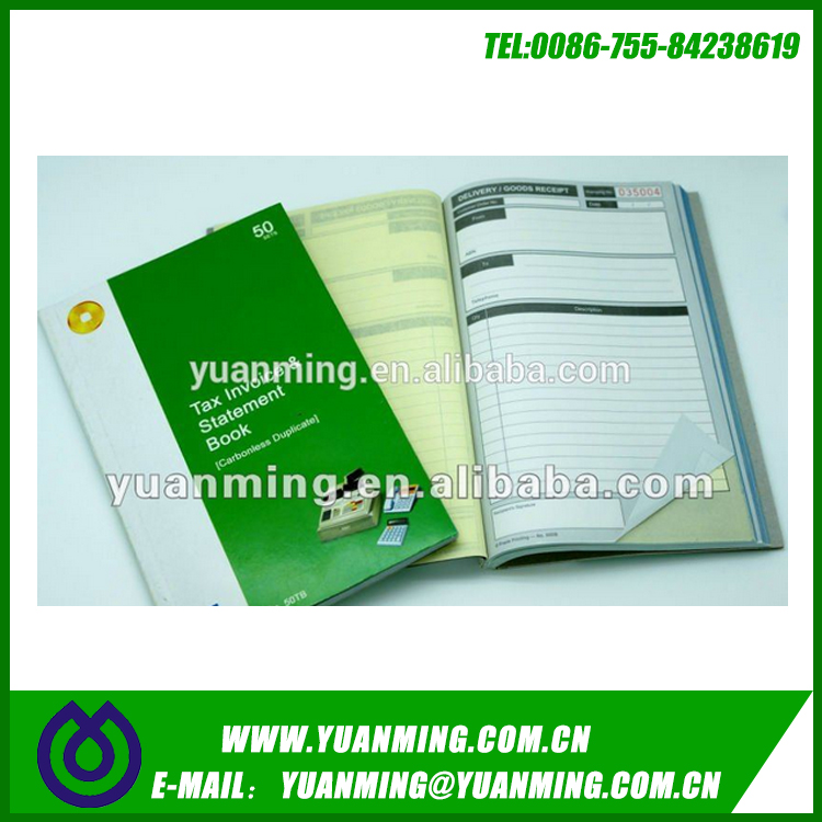 Cash Receipt Business Book sales order pads