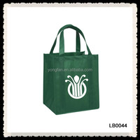 Handled Style Non-Woven Material Folding Strong Tote Bag