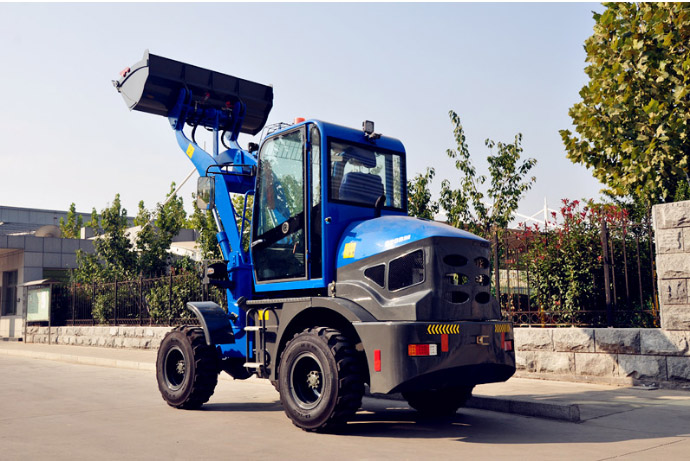 DTH 920B Front End Mini Loader 1 ton Small Wheel Loader For Construction