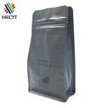 500g 1kg Box bottom bag with resealable zip and valve