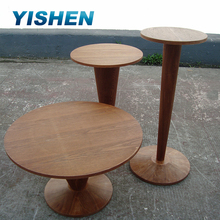 Clothing display table stand,retail wood baby product display stand