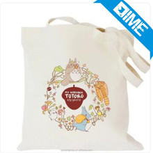 New Arrival Handled Style Recyclable Canvas Fabric Canvas Tote Bag