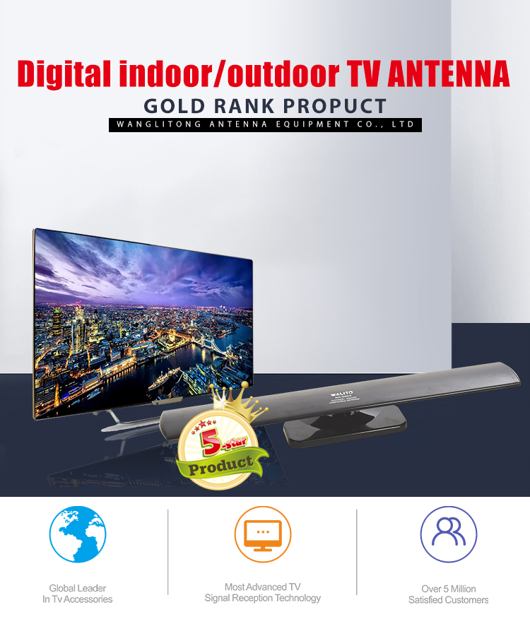Factory Supply the best indoor outdoor digital tv aerial antenna