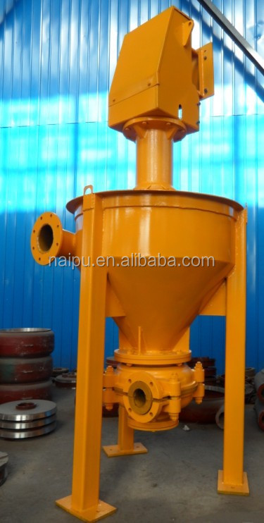 Vertical mining froth pump factory