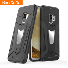 Newest Arrival kickstand hybrid mobile phone case cover for samsung galaxy s9