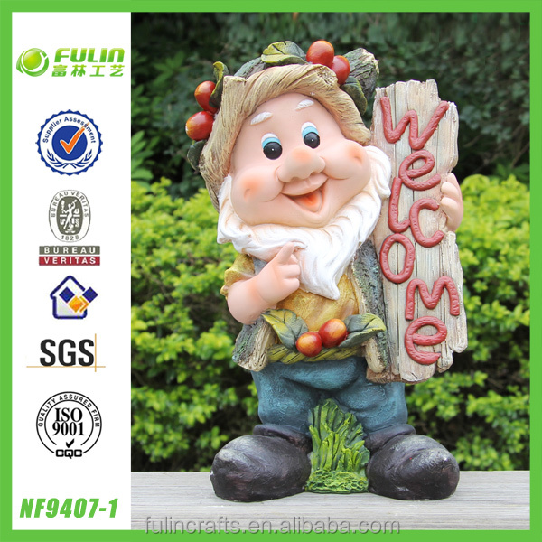 Home and Garden Gnome Polyresin Crafts