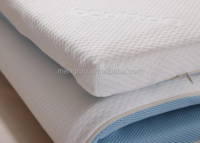 Wholesale 3d Mesh Cover Foam Aloe Vera Mattress Topper