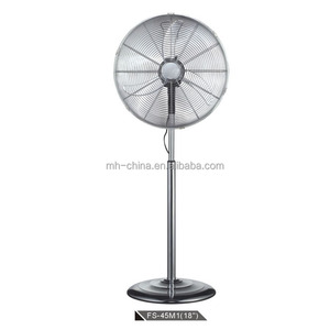 Hot sale powerful metal fan 18 inch industrial stand fan
