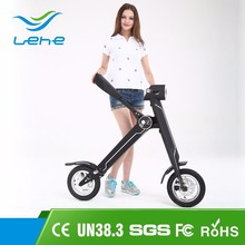 Alibaba online shopping 240w foldable electric chariot Scooters two big wheel electric motorcycle