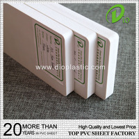 hot sale high quality 5mm 8mm white pvc foam sheet for sign board