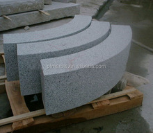latest natural best price marble made cheap grey granite driveway curbstones