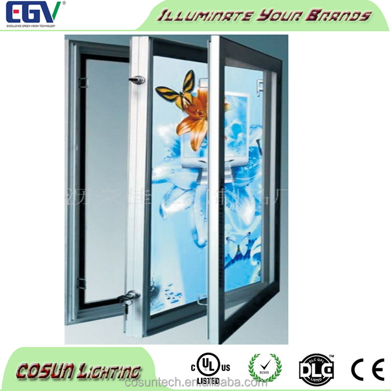 LED photo frames super large outdoor aluminum frame light box
