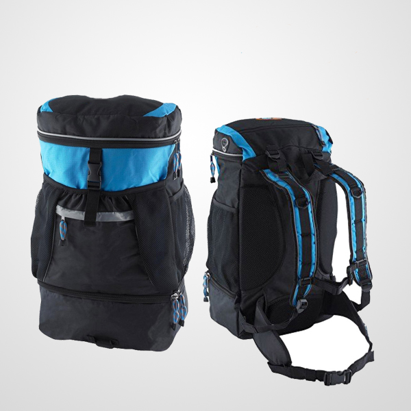 Triathlon Transition Bag with High-elasticity helmet Pocket
